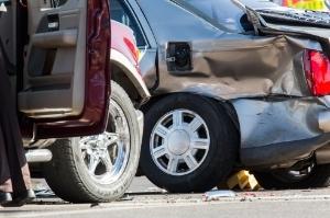 Cars crashed in Georgia.